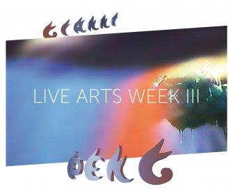 Logo Live Arts Week III