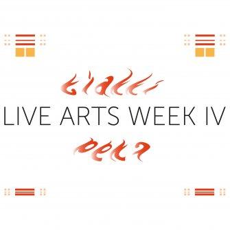 Logo Live Arts Week 2015