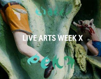 Live Arts Week X head